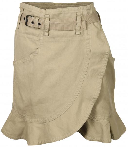 Women's Isabel Marant Etoile Skirt Roan Khaki