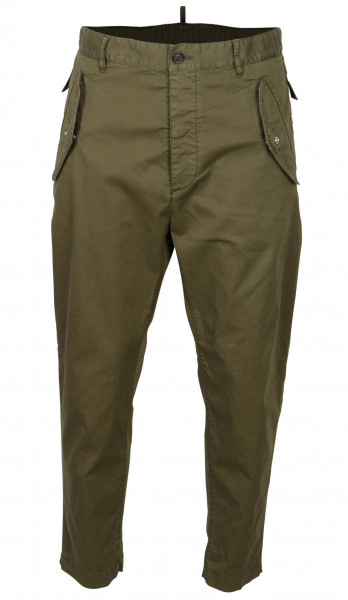 Men's Dsquared Military Pant Olive