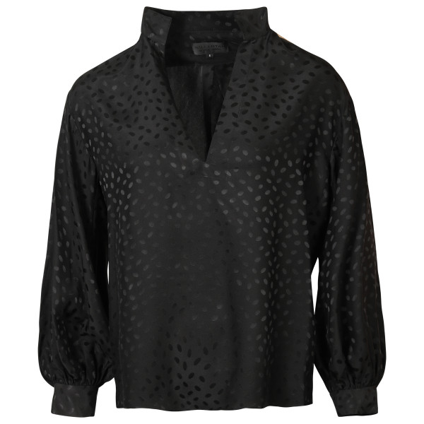 Women's Nili Lotan Silk Blouse Joey Black
