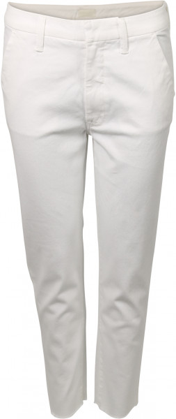 Women's Mother Chino The Shaker Offwhite