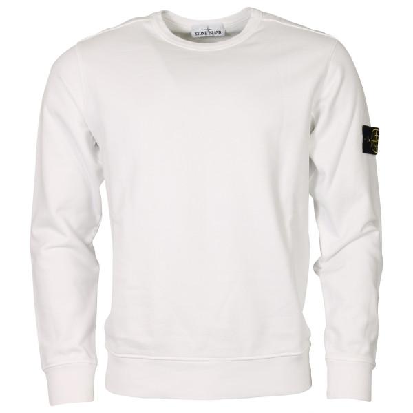 Men's Stone Island Sweatshirt White