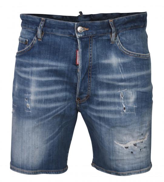 Men´s Dsquared Denim Shorts Blue washed