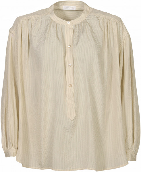 Women's Anine Bing Shirt Eden Cream/Black Stripe