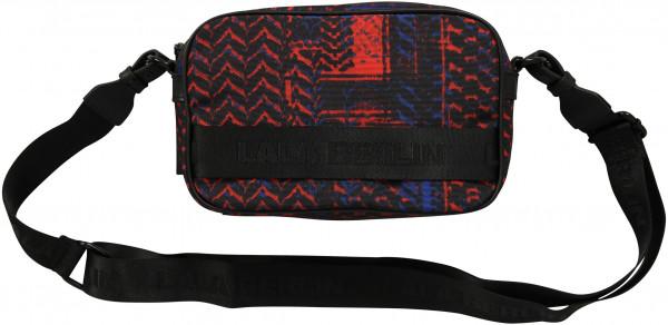 Women's Lala Berlin Crossbody Bag Agatha Kufiya Stamp Dark