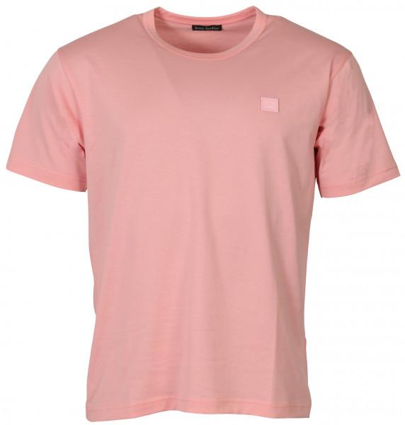 Unisex Acne Studios T-Shirt Nash Face Blush Pink