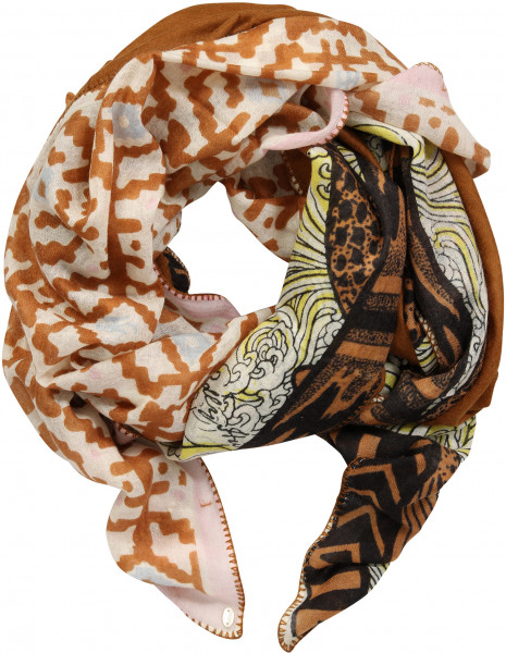 Friendly Hunting Patch Scarf Multicolour