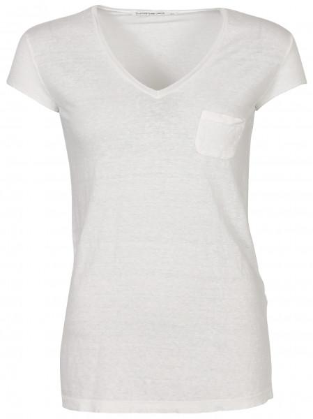 Women's Transit T-Shirt White Linen
