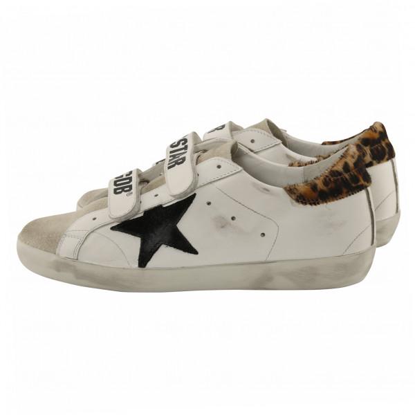 Women's Golden Goose Sneaker Old School White/Leo