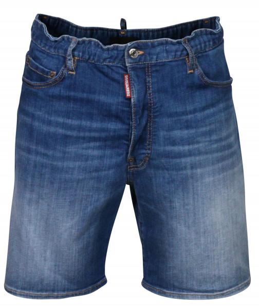 Men's Dsquared Jeans Shorts Blue Washed
