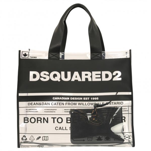 Women's Dsquared Transparant Shopping Bag