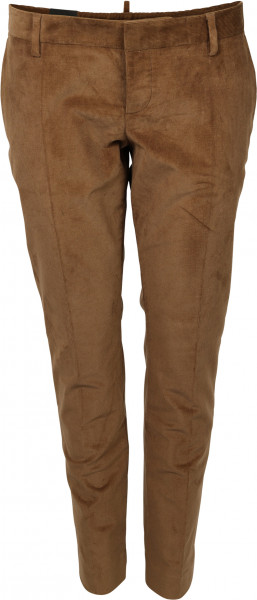 Women's Dsquared Cord Pants Brown