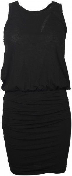 Women's James Perse Racerback Dress Black