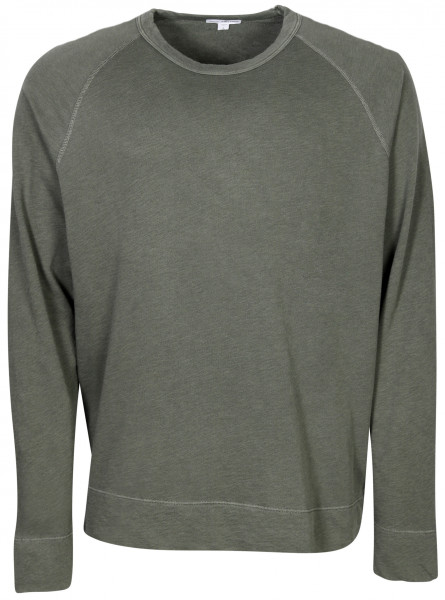 Men's James Perse Vintage Sweatshirt Washed Olive