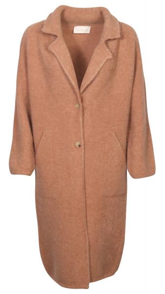 Women's Chiara Bertani Knit Coat Camel