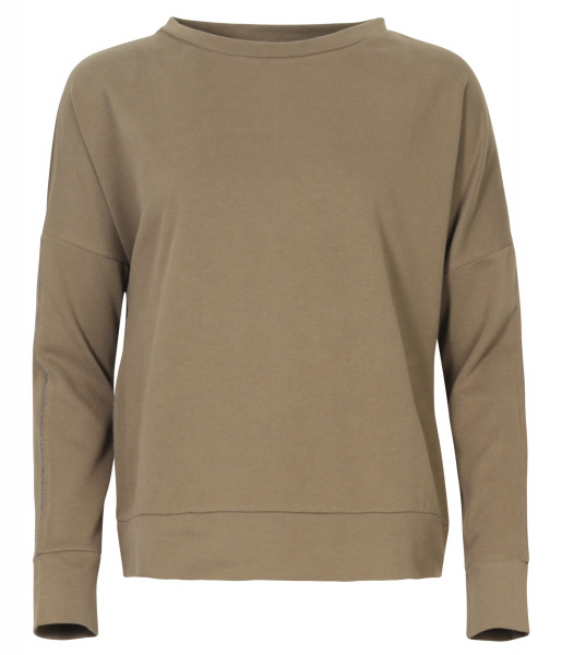 Juvia Lounge Wear Sweatshirt oversized khaki
