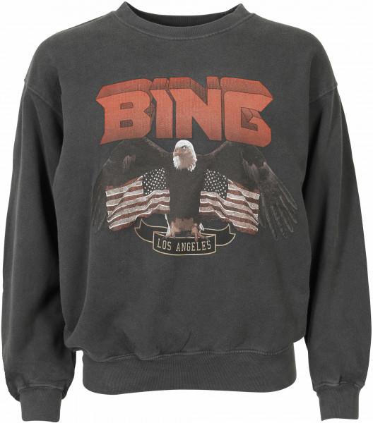 Women's Anine Bing Sweatshirt Vintage Bing Black