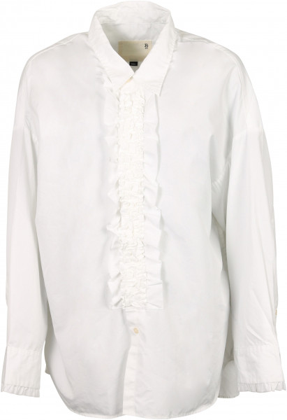 Women's R13 Tuxedo Shirt White