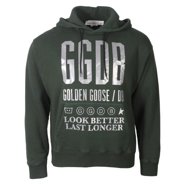 Men's Golden Goose Hoodie grün