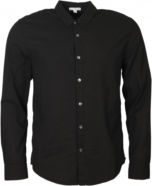 Men's James Perse Shirt Standard Black
