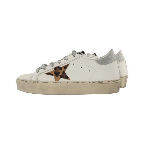 Women's Golden Goose Sneaker Hi Star White/Leo
