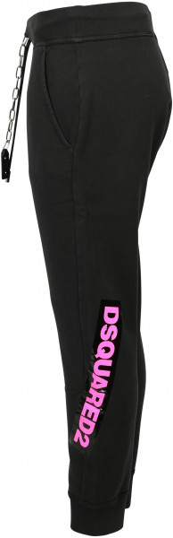 Women's Dsquared Sweatpant Black/Pink