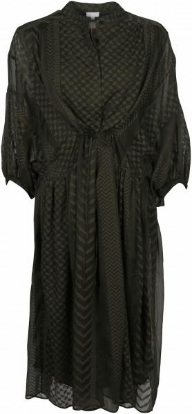Women's Lala Berlin Dress Daly Kufiya Stitched Olive