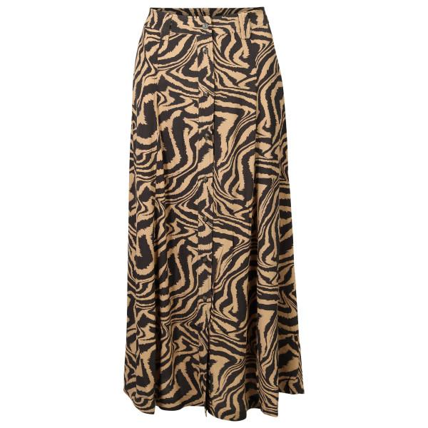 Women's Ganni Skirt Animal Printed Crepe