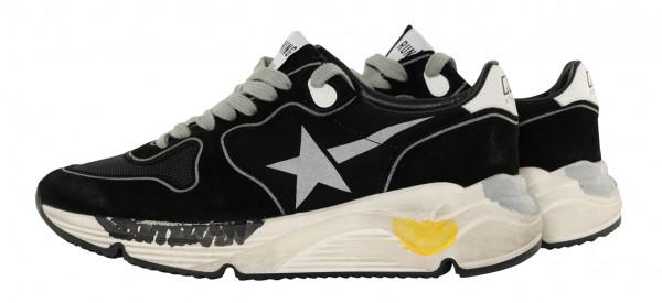 Women's Golden Goose Sneaker Running Black