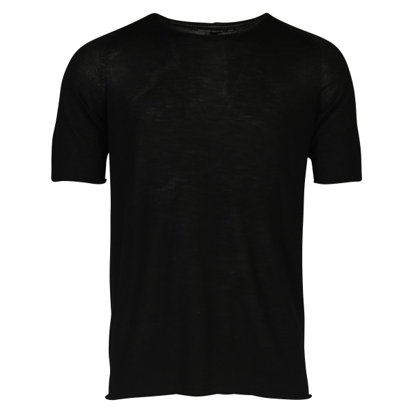 Men's Hannes Roether Cashmere T-Shirt Black