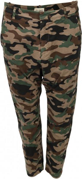 Women's Nili Lotan Pant Paris Camouflage