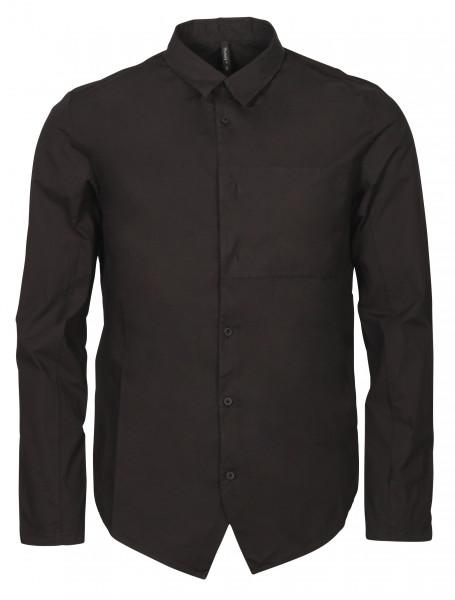 Men's Transit Uomo Cotton Shirt Black