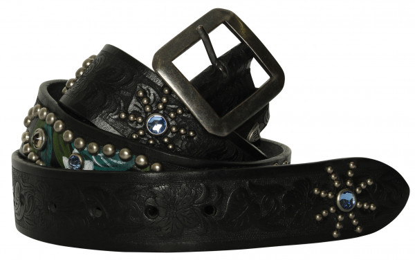 Women's HTC American Belt Black