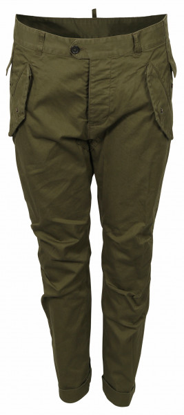 Women's Dsquared Cargo Pant Olive