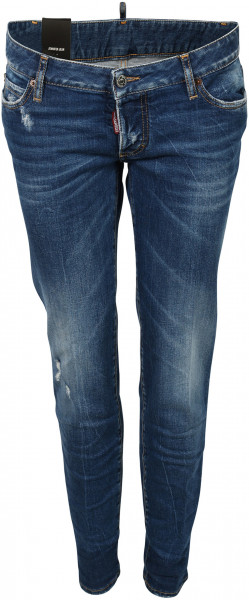 Women's Dsquared Jeans Jennifer Blue Washed