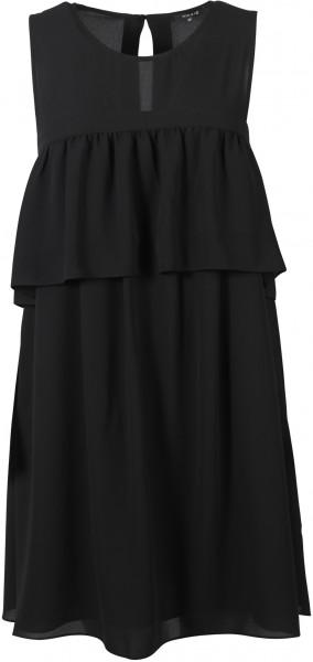 Nikkie Kleid Volants schwarz