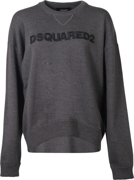 Dsquared D2 Pullover anthrazit