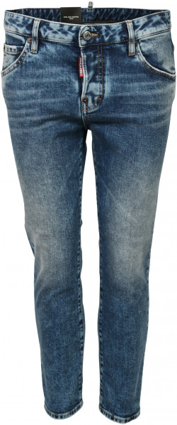 Women's Dsquared D2 Jeans Cool Girl Cropped Blue