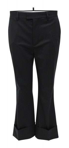 Women´s Dsquared Chino Hose schwarz S72KA0717
