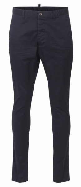 Men's Dsquared D2 Chino Pants navy S74KB0056