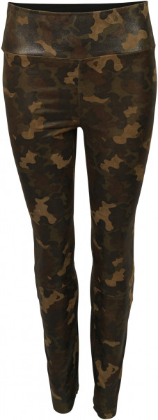 Women's SPRWMN Lamb Leather Legging Camo