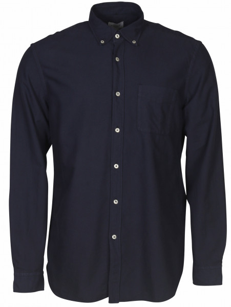 Men's Woolrich Oxford Shirt Blue