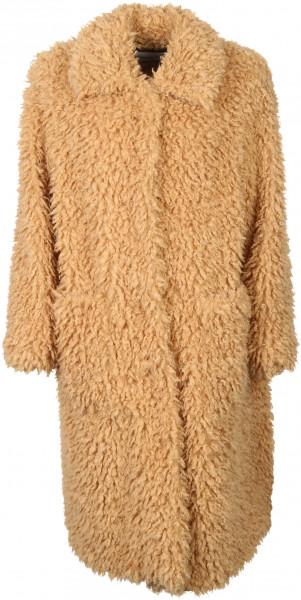 Women's Stand Studio Fake Fur Coat Taylor Camel
