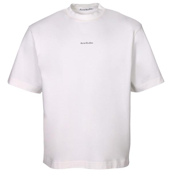 Men's Acne Studios Heavy T-Shirt Extorr Stamp White