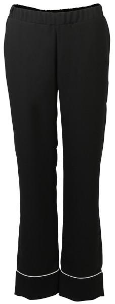 Shirtaporter Hose Bootcut schwarz/weiss