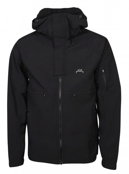 Men's A-Cold-Wall Hooded Stormjacket Black