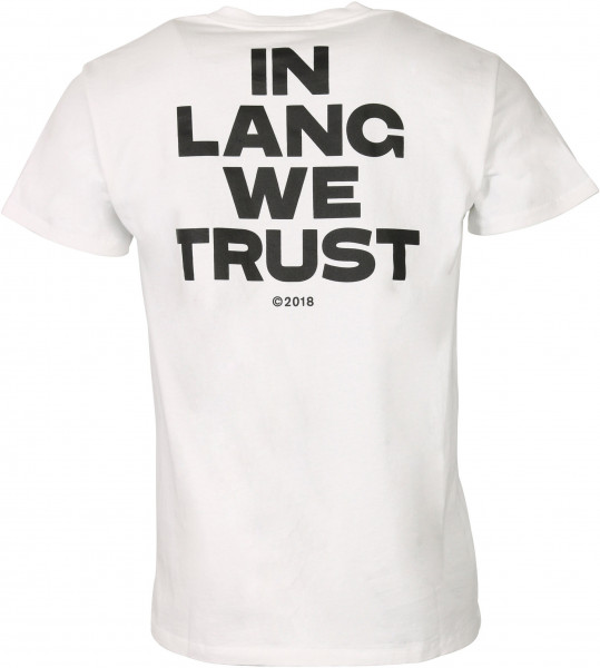 Men's Helmut Lang T-Shirt Trust White