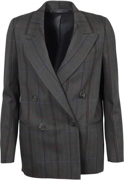 Women's Acne Studios Suit Jacket Grey/Purple