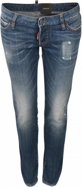 Women's Dsquared Jeans Jennifer Blue Washed