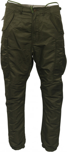 Men's R13 Military Cargo Pant Olive