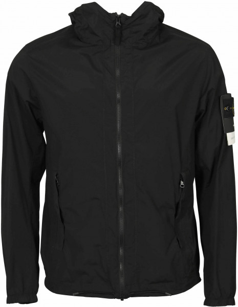 Men's Stone Island Packable Jacket Black